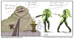 Jabba's Slave (Oola) by MaBeelZ