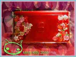 Ds Lite case by Minty-Kitty-Art