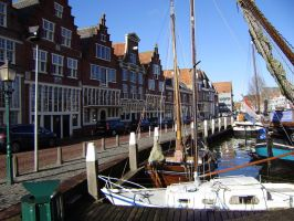 MEDIEVAL QUAY IN HOORN by isabelle13280