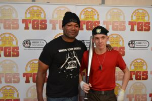 I MET TEAL'C (Chris Judge) by middlelink