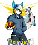 Commission: Trainer Daniel! by Blitzy-Arts