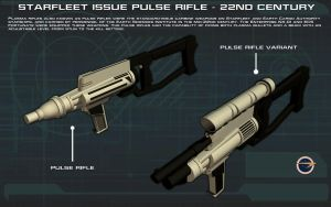 Pulse Rifle [22nd Century] Tech Readout by unusualsuspex