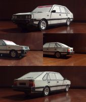 FSO Polonez paper model by Lew-GTR