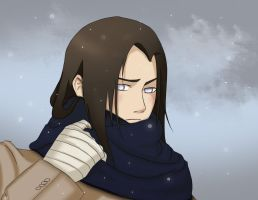 Neji (Winter page in Spring) by AridanBlack