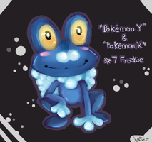 Froakie - Pokemon Starter by skrollmon