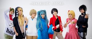 Mekakucity Actors by azukajung