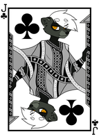 Jack of Clubs by Hazelmere