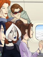 Air Travel by Raphaella