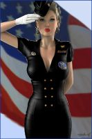 All American Girl 2011 by akulla3D