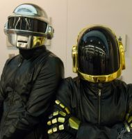 Daft Punk at Fanimecon by NightOwl-OvO