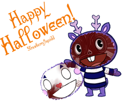 Mime wishes you a Happy Halloween! by StrawberrySquidd