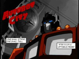 Autobot City--Prime by Shamus-McGee