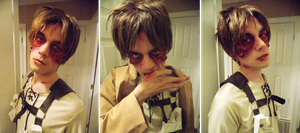 Eren Jaegar - Cosplay/Makeup (Post Titan) by NipahCos