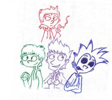 Eddsworld doodle by YoungMadScientist