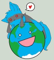 Riolu: Happy Earth Day by LucarioFan1996