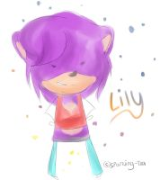 Lily Super chibi commission by Sparkling-Tea