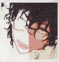 Tyki Cross Stitch WIP by theygotme