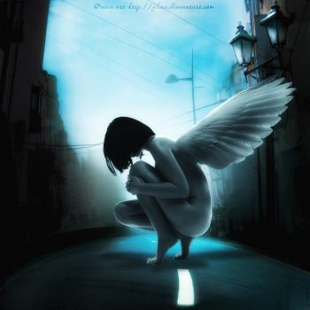 Angel In the City by flina
