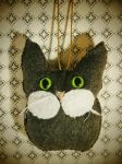 Owl-Cat newly discovered creature from thortonwood by InkyDreamz