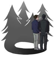 Sterek: Autumn by Gone-Batty