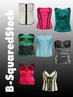 Corset Pack 3 PSD by B-SquaredStock