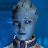 Liara's amused by PhatSeeJay