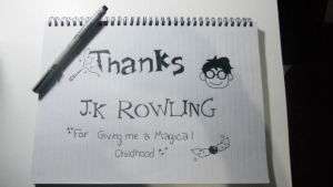 Thank You, J.K Rowling by Mariu9