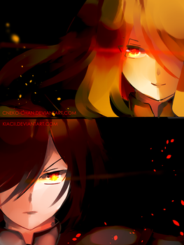The Tale of the Twin Siblings #2 [[Glitchtale s2]] by kyashee