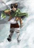 Rivaille Heichou by Eeni