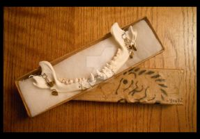 Raccoon Jaw Necklace - Packaging by Shamans-Yoik
