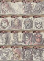 Marvel Masterpieces part 3 by RyanOdagawa
