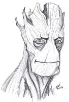 I CAN'T STOP DRAWING GROOT AND I DON'T WANT TO!!! by ConstantM0tion