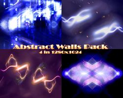 Abstract Walls Pack by klen70