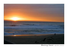 Monterey Sunset by trinity-77
