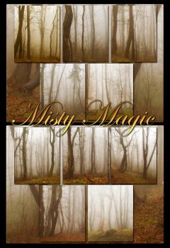 Misty Magic backgrounds by moonchild-ljilja
