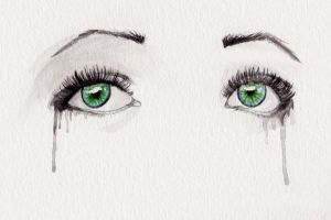 Watercolor eyes by neko-loverx3