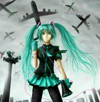 Hatsune Miku: Love Is War by RedLadyMercenary
