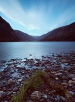 Glendalough Upper Lake II by SewerRar