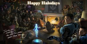 Happy Halodays by Falcotte