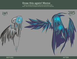 DRAW THIS AGAIN by plaguefacez