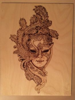 Venetian mask by shyhobbit