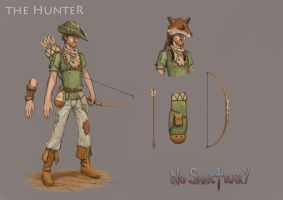No Sanctuary: The Hunter by dinfet