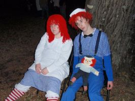 Raggedy Ann and Andy by FairyTaleRuins