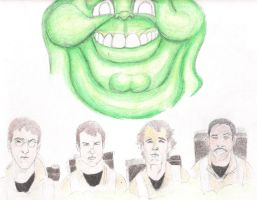 Ghostbusters by meb1982