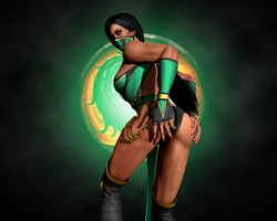 Jade, The Hot Edenian by LordHayabusa357