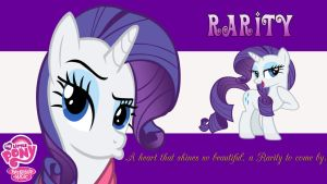 Rarity Wallpaper by AceofPonies