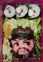 Bento ~ Charaben ~ Solid Snake (Metal Gear Solid) by mitsubachichan