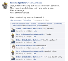 Hetalia Facebook: Keyboards by gilxoz-epicness
