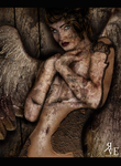 The Angel of Stone ~ Experimental work by GeneRazART