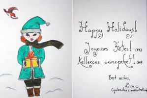 Holiday Card Project 2014 by Galendae